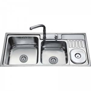 Double Bowls With Panel RS9546A