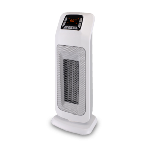 2KW Home Ceramic  PTC  Fan Heater, Tower Heater With ECO, 2 Heat Settings, Adjustable Thermostat , White,220V DF-HT5323P