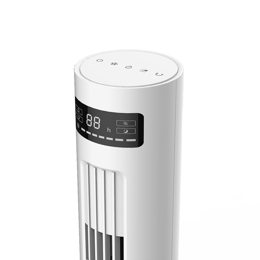 2019 wholesale price Air Conditioner Cooler Fan - DF-AT2601HC DC motor, elegant and fashion tower fan, detachable, low noise,Energy saving,7 wind speeds,With light option; LED display – Lianchuang