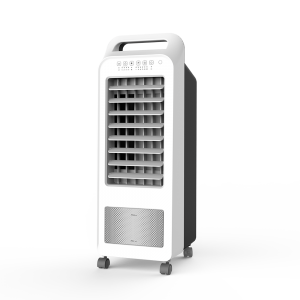 DF-AF1501C Portable Air Cooler Fan for Home with Remote Control ,Timer Function, 3 Speeds, 3 Wind Settings & Oscillation ,removable water tank 5.5L, User friendly handle