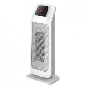 2KW Home Ceramic  PTC  Fan Heater, Tower Heater With ECO, 2 Heat Settings, Adjustable Thermostat , White,220V DF-HT5355P