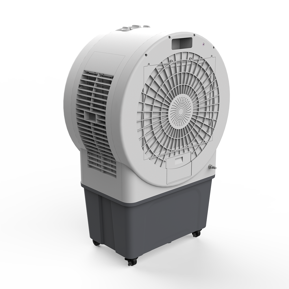 Chinese Professional Slim Air Cooler - DF-AF8089C commercial air cooler with time presetting, digital control, LED display, 3D oscillation, big air flow, covering area 400-500m2 – Lianchuang