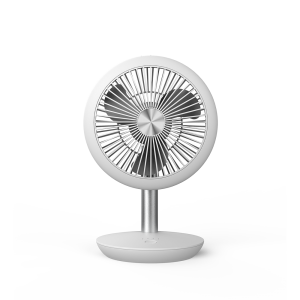 China wholesale Air Cooler Fan Portable - DF-EF0510D mini rechargeable fan; USB connection; low noise; desk table personal fan; 90° vertical oscillation by hand; suit for office, camping, making u...