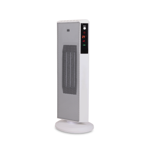 2KW Home Ceramic  PTC  Fan Heater, Tower Heater With ECO, 2 Heat Settings, Adjustable Thermostat , WIFI, White/Black,220V DF-HT5325P