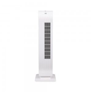 2KW Home Ceramic  PTC  Fan Heater, Whole room Heater With 2 Heat Settings, Adjustable Thermostat , Cooling function, White/Black,220V  DF-HT3812PG1