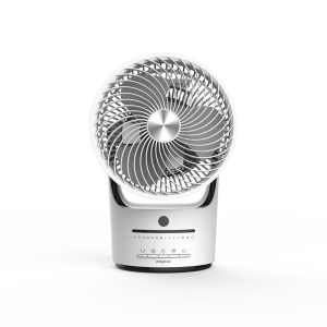 Factory Cheap Hot Office Fans - DF-EF0816V (8″) Table Air Circulator Fan, 360°Oscillation, Timer with Remote  White – Lianchuang