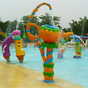 Professional Design Splash Water Park Rides - Water park animal cartoon children water spray toy for sale – GFUN