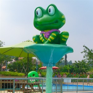 Water park animal cartoon children water spray toy for sale