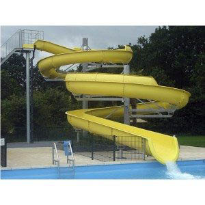 Special Design for Water House Slide For Kids - Aqua Park Equipment Enclosed spiral slide – GFUN detail pictures