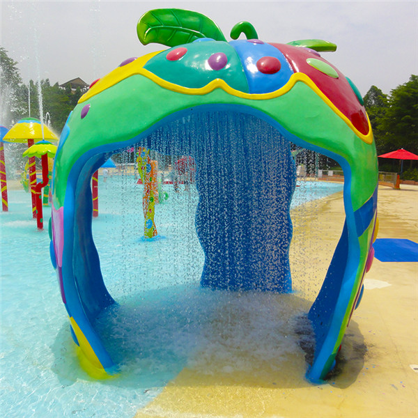 New Delivery for Spray Water Park - Aqua Spray Play Features Apple House – GFUN