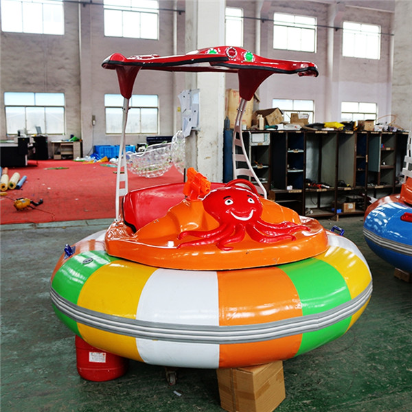 China Manufacturer for Water Park Animal Spray - Cheap inflatable bumper boats for adults and children – GFUN