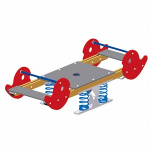 Top Suppliers Small Playground Equipment - Custom high quality outdoor children's seesaw children playground toys – GFUN