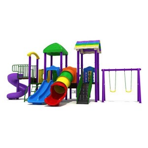 Factory Supply Where Can I Buy A Swing Set - Customized Kids Outdoor Playground Slide – GFUN
