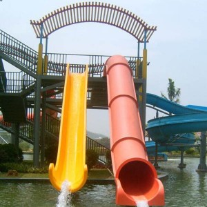 China Gold Supplier for Splash Park Equipment - Good Quality Promotional Barrel and sled slides – GFUN