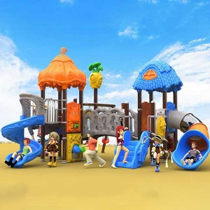 Free sample for Childrens Playground Equipment For Sale - High quality outdoor backyard playground set for sale – GFUN