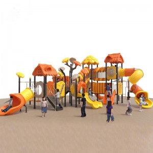 High reputation Kids Gym Sets - High-quality outdoor preschool children's playground equipment slide sets – GFUN