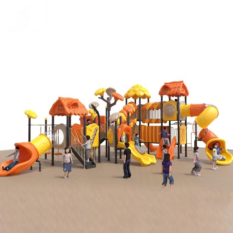 Professional China Stainless Slide - High-quality outdoor preschool children's playground equipment slide sets – GFUN