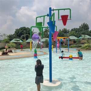 China Supplier Galvanized Pipe Water Park Slides - High quality water splash equipment for sale – GFUN