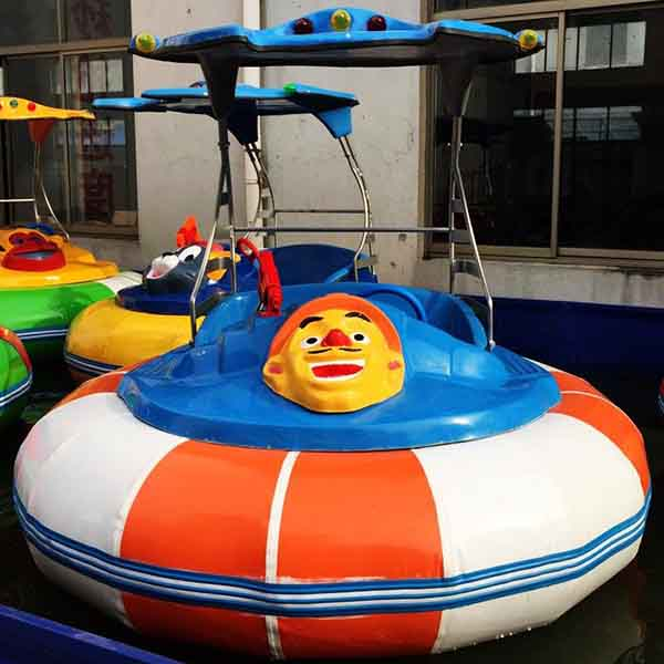 Factory Promotional Fiberglass Splash Pads - Hot sale water park equipment laser bumper boats – GFUN