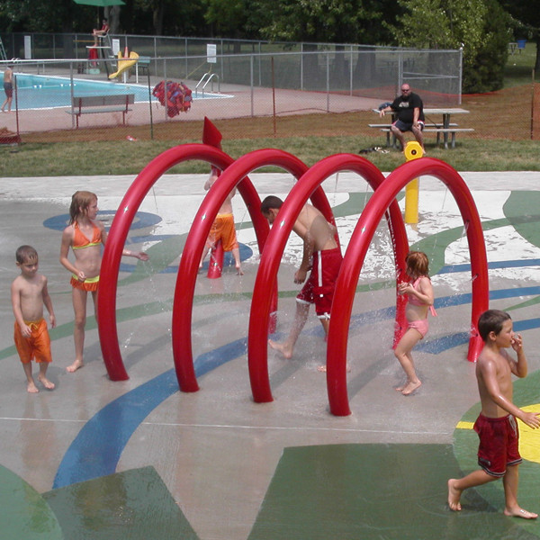 Super Lowest Price Water Slides Suppliers - Kids Splash Park Equipment splash interactive equipment – GFUN