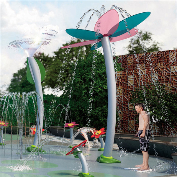 Super Lowest Price Water Slides Suppliers - Kids Splash Park Equipment splash interactive equipment – GFUN detail pictures