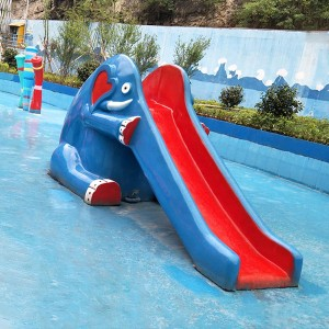 Europe style for Fiberglass Family Slide - Kids Water Slide for water park – GFUN