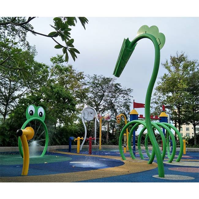 Reasonable price Splash Pad Equipment Manufacturers - Lots of water park interactive splash equipment for sale – GFUN