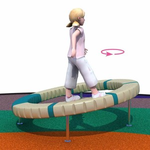 Factory Free sample Discount Swing Set - Low-cost playground equipment rotating ring playground – GFUN