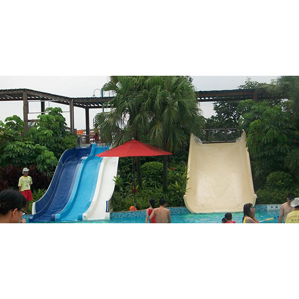 Newly Arrival Outdoor Spray Park Equipment - Low price family wide water slide – GFUN