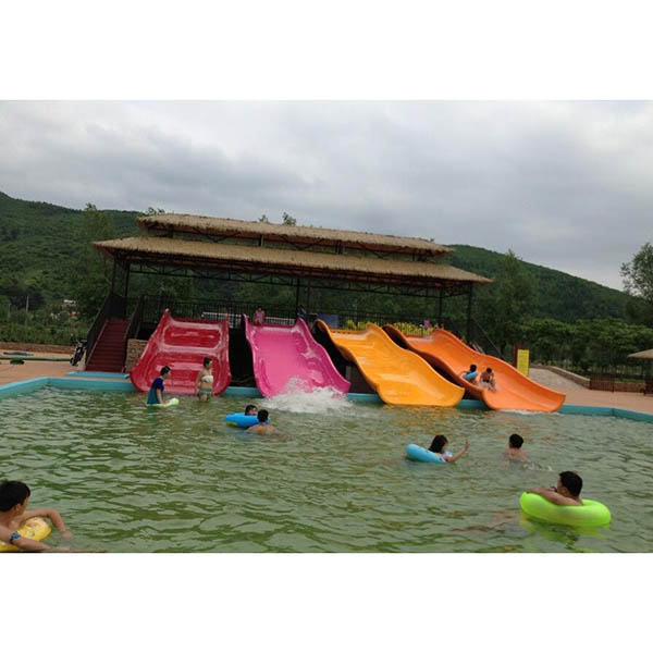 OEM Customized Aqua Park Slide - Low price family wide water slide – GFUN detail pictures