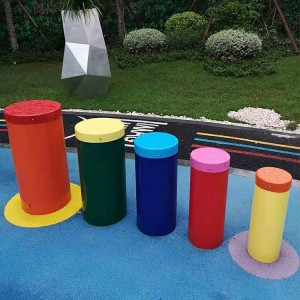 2019 China New Design Plastic Playground Slide - Popular playground percussion instruments – GFUN