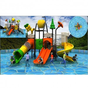 Professional design of water park playground