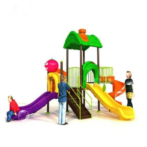 Wholesale Plastic Swing Sets For Toddlers - Quality supplier of outdoor playground equipment – GFUN