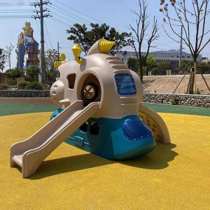 Factory made hot-sale Outdoor Gym Equipment For Home - Small Space Fish Boat Playground – GFUN