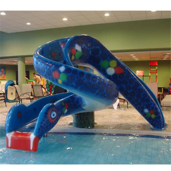 OEM Customized Aqua Park Slide - Snake slide for kids water playground water park – GFUN detail pictures