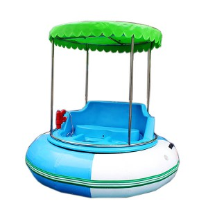 The factory sells ordinary electric bumper boats at low prices