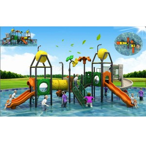 Manufacturer for Water Slide Into Pool - Very interesting water play equipment water house – GFUN