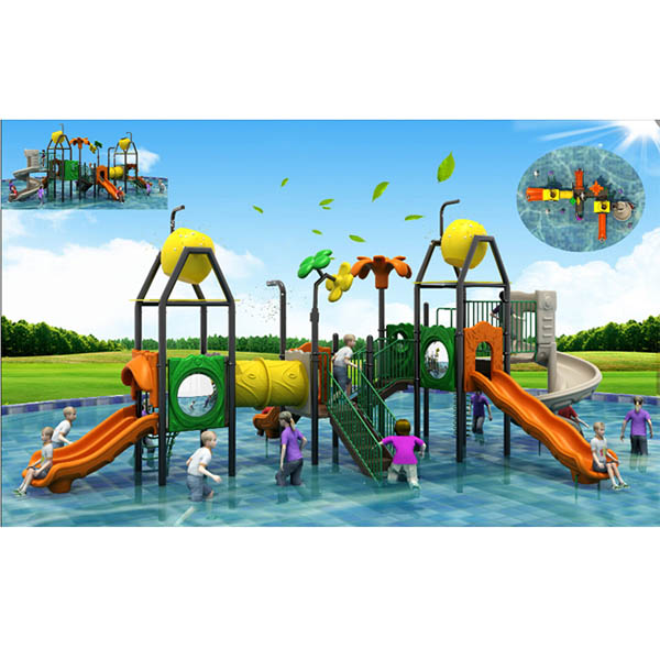 Ordinary Discount Water Slide Kids Play House - Very interesting water play equipment water house – GFUN
