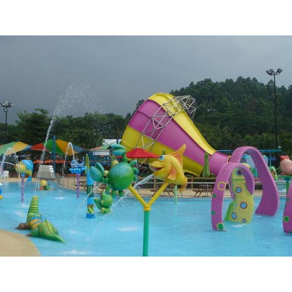 Top Suppliers Aqua Park Slide For Sale - Water Park Small Trumpet Water Slide – GFUN