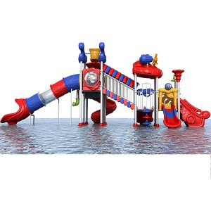 Europe style for Fiberglass Family Slide - Water park combination water slide – GFUN