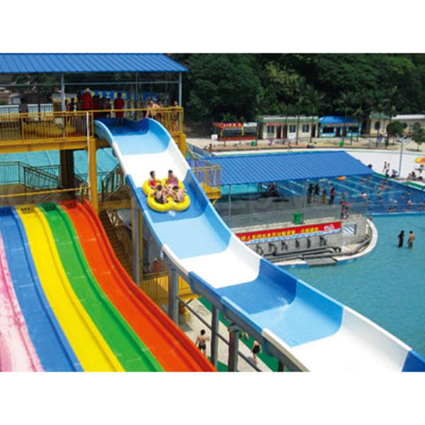 Best Price for Foot Boat For Sale - Water park family spiral water slide – GFUN detail pictures
