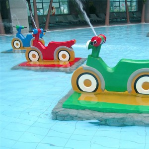 Renewable Design for Fiberglass Water Slide - Water park play equipment – GFUN