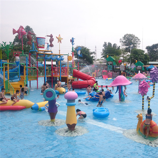 China Cheap price Water Slides For Sale - Water park splash pad equipment – GFUN