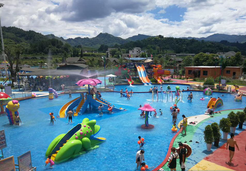 What are the conditions for children's water park equipment?