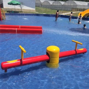 water park seesaw,water spray toy