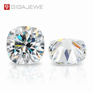 Hot-selling Cushion Cut Moissanite Diamond Stone - GIGAJEWE D Colour Excellent Cushion Cut Moissanite Loose Diamond Pass Tester Gems Stone For Jewelry making – Jujia