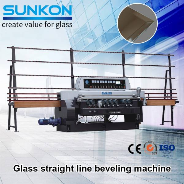 China New Product 1 Beveled Mirror - CGX261P  Glass Straight Line Beveling Machine with PLC Control – SUNKON
