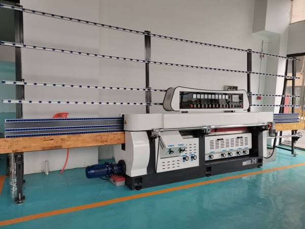 CGZ9325P-45°  Glass Variable Miter Machine with PLC control