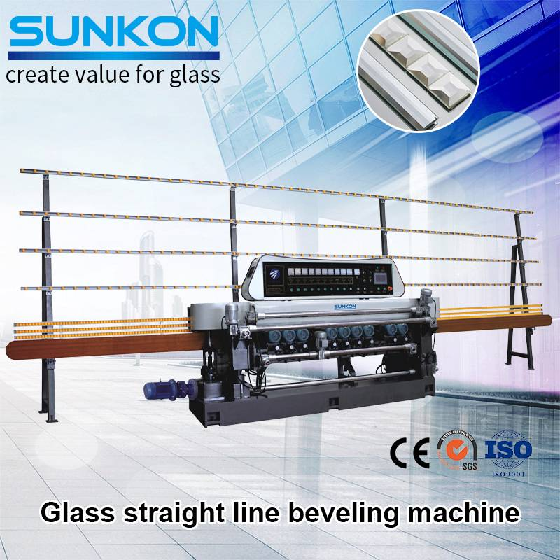 CGX371SJ Glass Straight Line Beveling Machine With Lifting Function Featured Image