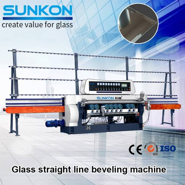 CGX261P  Glass Straight Line Beveling Machine with PLC Control